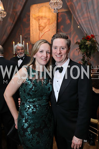 Caryn Reeves, Tad Czyzewski. Photo by Tony Powell. 2018 Choral Arts Gala. Kennedy Center. December 17, 2018
