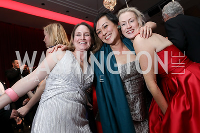 Bethann Siegel, Katie Capana, Shannon Corey. Photo by Tony Powell. 2018 Choral Arts Gala. Kennedy Center. December 17, 2018