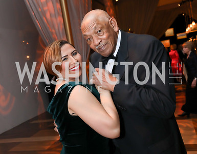 Felicity Williams, Wesley King. Photo by Tony Powell. 2018 Choral Arts Gala. Kennedy Center. December 17, 2018