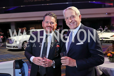 Martin Payne, Tom Blair. Photo by Tony Powell. 2018 Exotic Car and Luxury Lifestyle VIP Event. Convention Center. January 23, 2018