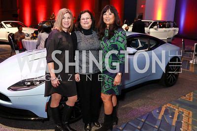 Annette Nader, Susan Stauder, Tina Mather. Photo by Tony Powell. 2018 Exotic Car and Luxury Lifestyle VIP Event. Convention Center. January 23, 2018
