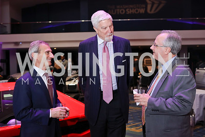 Tony Nader, Tom McMillen, Mark Stauder. Photo by Tony Powell. 2018 Exotic Car and Luxury Lifestyle VIP Event. Convention Center. January 23, 2018