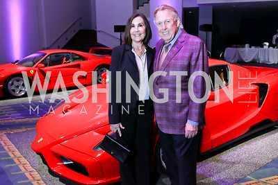 Bonnie and Dick Patterson. Photo by Tony Powell. 2018 Exotic Car and Luxury Lifestyle VIP Event. Convention Center. January 23, 2018
