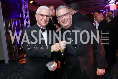 Bill Sudow, Fred Schaufeld. Photo by Tony Powell. 2018 Fight Night. Washington Hilton. November 1, 2018
