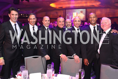 Guests of UAE Amb. Yousef Al Otaiba. Photo by Tony Powell. 2018 Fight Night. Washington Hilton. November 1, 2018