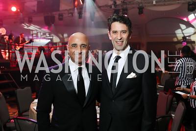 UAE Amb. Yousef Al-Otaiba, Mansoor Abulhoul. Photo by Tony Powell. 2018 Fight Night. Washington Hilton. November 1, 2018
