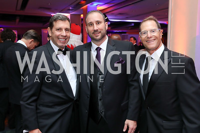 Jerry Distefano, Eric Rafael, David Kessler. Photo by Tony Powell. 2018 Fight Night. Washington Hilton. November 1, 2018