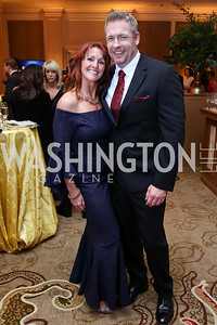 Gala Chairs Patti and Rob Franklin. Photo by Tony Powell. 2018 Heart Ball. Mandarin Oriental. February 24, 2018