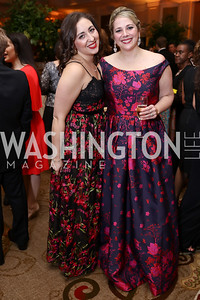 Kristen LaViscount, Kara Laing. Photo by Tony Powell. 2018 Heart Ball. Mandarin Oriental. February 24, 2018