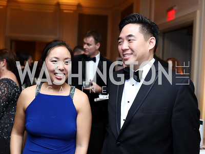 Patty and Stephen Yoo. Photo by Tony Powell. 2018 Heart Ball. Mandarin Oriental. February 24, 2018