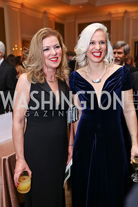 Shannon Murray, Daniela Leonhardt. Photo by Tony Powell. 2018 Heart Ball. Mandarin Oriental. February 24, 2018