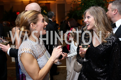 Katie McLaughlin, Alison Goradia. Photo by Tony Powell. 2018 Heart Ball. Mandarin Oriental. February 24, 2018