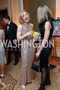 Megan Mackey, Ana Barac. Photo by Tony Powell. 2018 Heart Ball. Mandarin Oriental. February 24, 2018