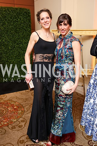 Meredith Cymerman, Elizabeth Carmen. Photo by Tony Powell. 2018 Heroes Gala. Mandarin Oriental. March 3, 2018