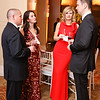Frank Zambrano, Dinora Chacon, Cristina and Deric Vinyard. Photo by Tony Powell. 2018 Heroes Gala. Mandarin Oriental. March 3, 2018
