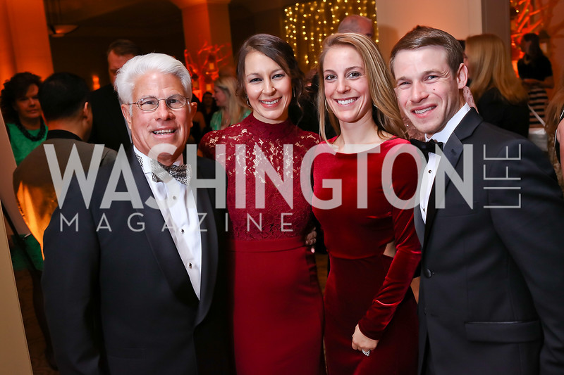 Floyd Davis, Rosemary Skipton, Melissa Samet, Nick Samet. Photo by Tony Powell. 2018 Heroes Gala. Mandarin Oriental. March 3, 2018