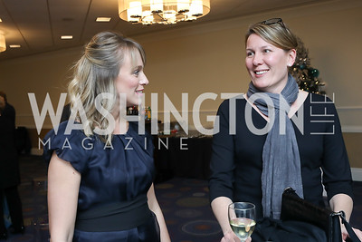Besa Pinchotti, Karen Ruedisueli. Photo by Tony Powell. 2018 Heroes and History Makers. Washington Hilton. November 29, 2018