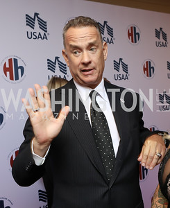 Tom Hanks. Photo by Tony Powell. 2018 Heroes and History Makers. Washington Hilton. November 29, 2018