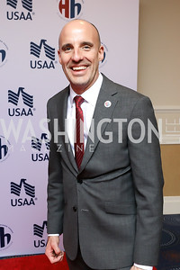 Elizabeth Dole Foundation Executive Director Steve Schwab. Photo by Tony Powell. 2018 Heroes and History Makers. Washington Hilton. November 29, 2018