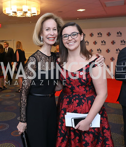 Bonnie McElveen-Hunter, Maddie Moore. Photo by Tony Powell. 2018 Heroes and History Makers. Washington Hilton. November 29, 2018