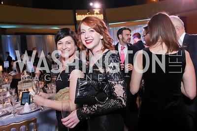 Ashley Whitlock, Allison Solomon. Photo by Tony Powell. 2018 Imagination Stage Gala. Embassy of Italy. December 7, 2018