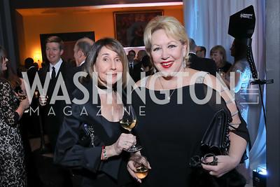 Betsy Grossman, Marsha Muawwad. Photo by Tony Powell. 2018 Imagination Stage Gala. Embassy of Italy. December 7, 2018