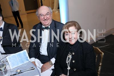 Richard and Irma Frank. Photo by Tony Powell. 2018 Imagination Stage Gala. Embassy of Italy. December 7, 2018