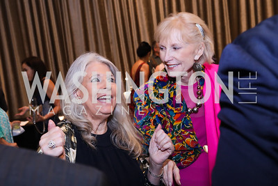 Barbara Hawthorn, Lola Reinsch. Photo by Tony Powell. 2018 Innocents at Risk. Mayflower Hotel. September 18, 2018