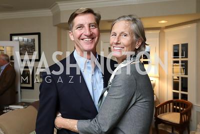 """John and Kim Snedden. Photo by Tony Powell. 2018 """"Joe's Kids"""" Fundraiser. October 15, 2018"""