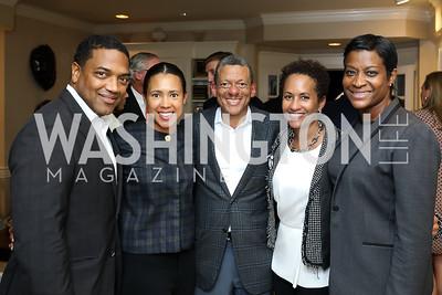 "Dennis and Carmen Perkins, BGCGW Board Chair Stanley Porter and Dr. Jennifer Porter, Sherlonda Jones. Photo by Tony Powell. 2018 ""Joe's Kids"" Fundraiser. October 15, 2018"