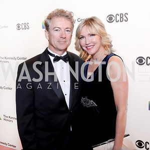 Sen. Rand Paul and Kelley Paul. Photo by Tony Powell. 2018 Kennedy Center Honors. December 2, 2018