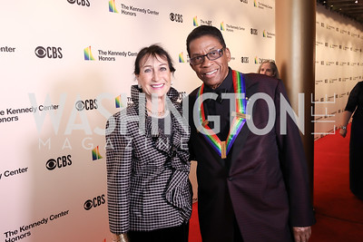 Gigi and Herbie Hancock. Photo by Tony Powell. 2018 Kennedy Center Honors. December 2, 2018