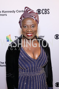 Singer Angélique Kidjo. Photo by Tony Powell. 2018 Kennedy Center Honors. December 2, 2018