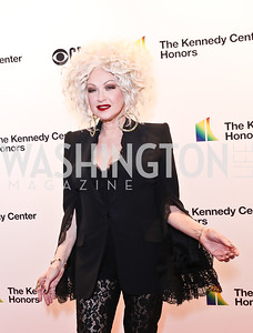 Cyndi Lauper. Photo by Tony Powell. 2018 Kennedy Center Honors. December 2, 2018