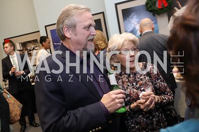 Marc and Pamela Davis. Photo by Tony Powell. Kirov Ballet Reception and Performance. December 14, 2019