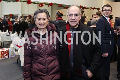 Kyoko and Antonio Betancourt. Photo by Tony Powell. Kirov Ballet Reception and Performance. December 14, 2019