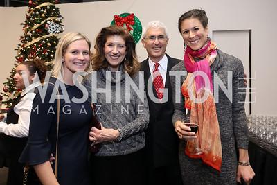Kim Clark, Debra Josefchak, Howard Goldman, Ilana Goldman. Photo by Tony Powell. Kirov Ballet Reception and Performance. December 14, 2019