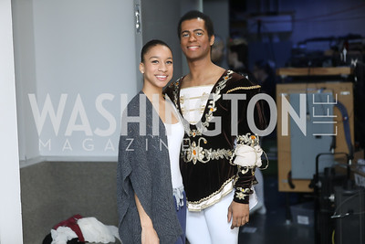 Angelique Pupke, Jean Pires. Photo by Tony Powell. Kirov Ballet Reception and Performance. December 14, 2019