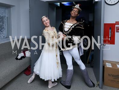 Ximena Legorreta, Jean Pires. Photo by Tony Powell. Kirov Ballet Reception and Performance. December 14, 2019