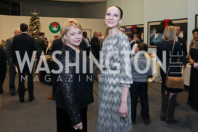 Svetlana Kravtsova, Irina Wunder. Photo by Tony Powell. Kirov Ballet Reception and Performance. December 14, 2019