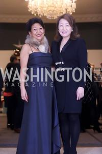 Pamela Gonzalez deCordoba, Tatiana Moon. Photo by Tony Powell. Kirov Ballet Reception and Performance. December 14, 2019