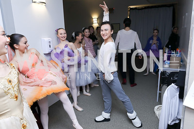 Telmen Munkherdene. Photo by Tony Powell. Kirov Ballet Reception and Performance. December 14, 2019
