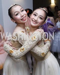 Laurie li,Ayaka Matsubara. Photo by Tony Powell. Kirov Ballet Reception and Performance. December 14, 2019