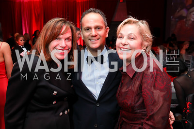 Carole Feld, Richard Marks, Francesca Craig. Photo by Tony Powell. 2018 Knock Out Abuse. Ritz Carlton. November 1, 2018