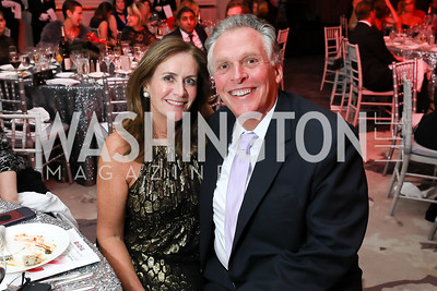 Dorothy McAuliffe and Gov. Terry McAuliffe. Photo by Tony Powell. 2018 Knock Out Abuse. Ritz Carlton. November 1, 2018