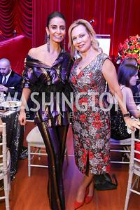 Abeer Al Otaiba, Cheryl Masri. Photo by Tony Powell. 2018 Knock Out Abuse. Ritz Carlton. November 1, 2018