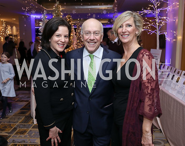 "Amy Hauser, CNMC CEO Kurt Newman, Children's Health Board President Amanda Sheehan. Photo by Tony Powell. 2018 CNMC ""Light Up the Season."" Four Seasons. December 16, 2018"
