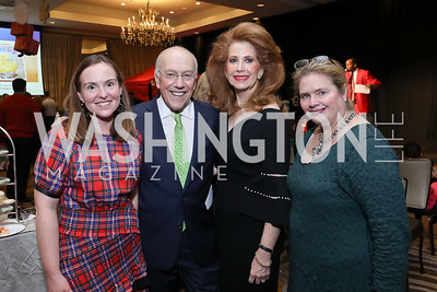 "Shannon Burkhart, CNMC CEO Kurt Newman, Muffin Lynham, Susan Hayes Long. Photo by Tony Powell. 2018 CNMC ""Light Up the Season."" Four Seasons. December 16, 2018"