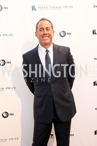 Jerry Seinfeld. Photo by Tony Powell. 2018 Mark Twain Prize. Kennedy Center. October 21, 2018