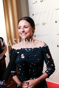 Julia Louis-Dreyfus. Photo by Tony Powell. 2018 Mark Twain Prize. Kennedy Center. October 21, 2018